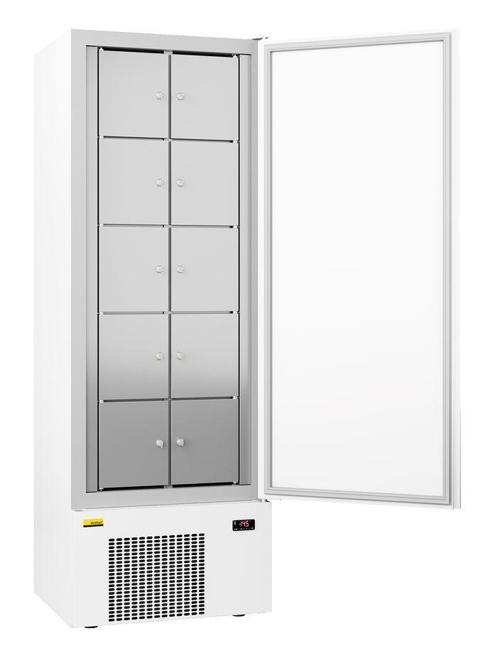 Nordcap Gemeinschaftskühlschrank GKS 380-10 F mit 10 Schließfächern