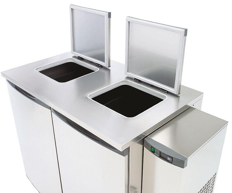 NordCap Abfallkühler 2x240 Liter