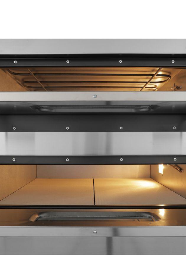 Pizzaofen PROFI 4+4x36cm