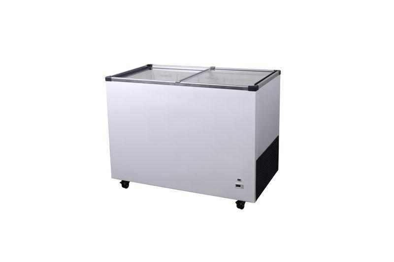 Tiefkühltruhe ECO 290 Digital mit Glasschiebedeckel