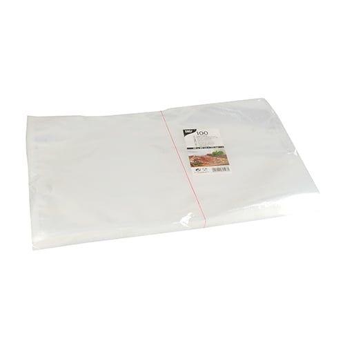 Papstar 100 Siegelrandbeutel, PA / PE 40 cm x 30 cm transparent 75 my