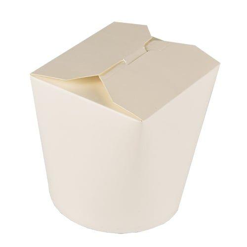 Papstar  Pure  Pastabox; Pappe - 50 Stück - 950 ml