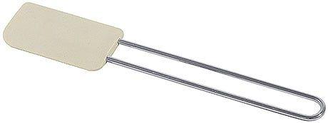 Teigschaber mit weich-elastischem Schaber, Länge gesamt 26 cm
