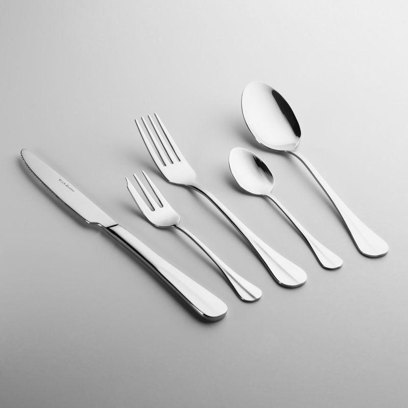 Cuillère à dessert «Baguette»- 18/10