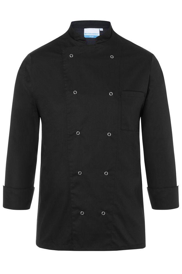 Herrenkochjacke Basic, schwarz, Größe: L