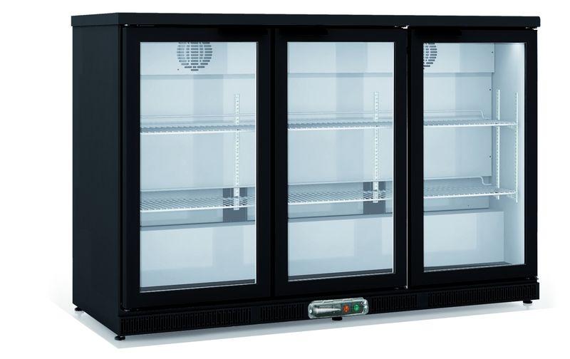 Barkühlschrank Profi 305 Liter schwarz