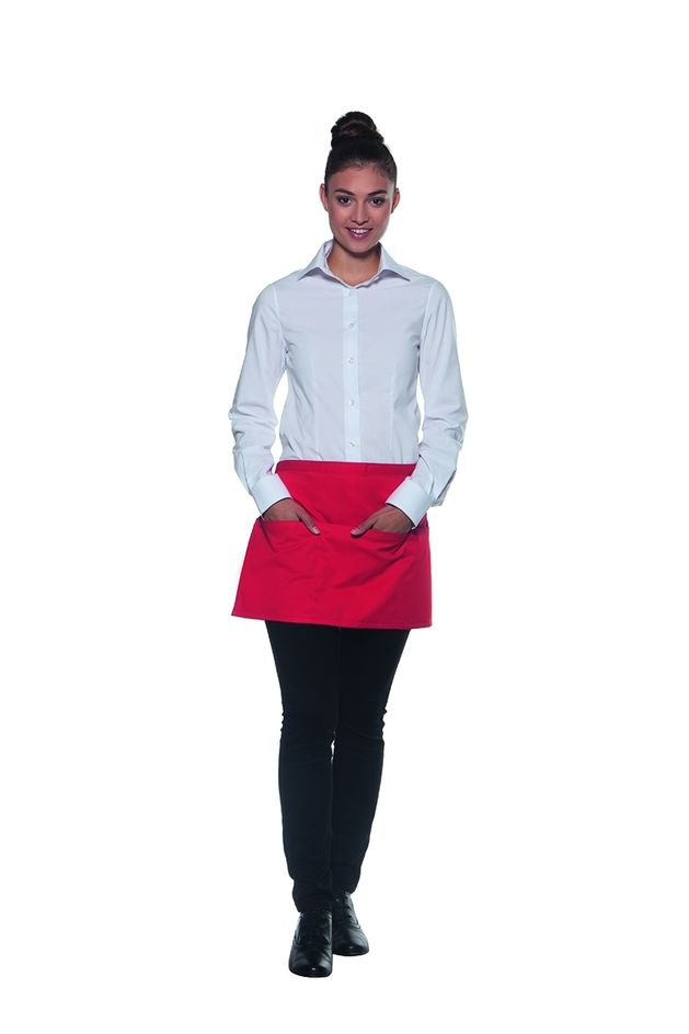 Vorbinder Basic 60 x 35 cm, mit Tasche, rot