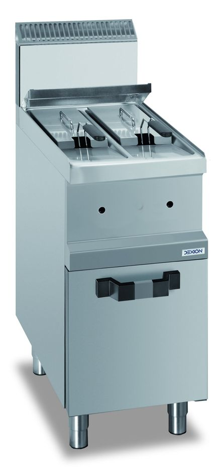 Gas-Fritteuse Dexion Serie 77 - 40/70 7+7 Liter