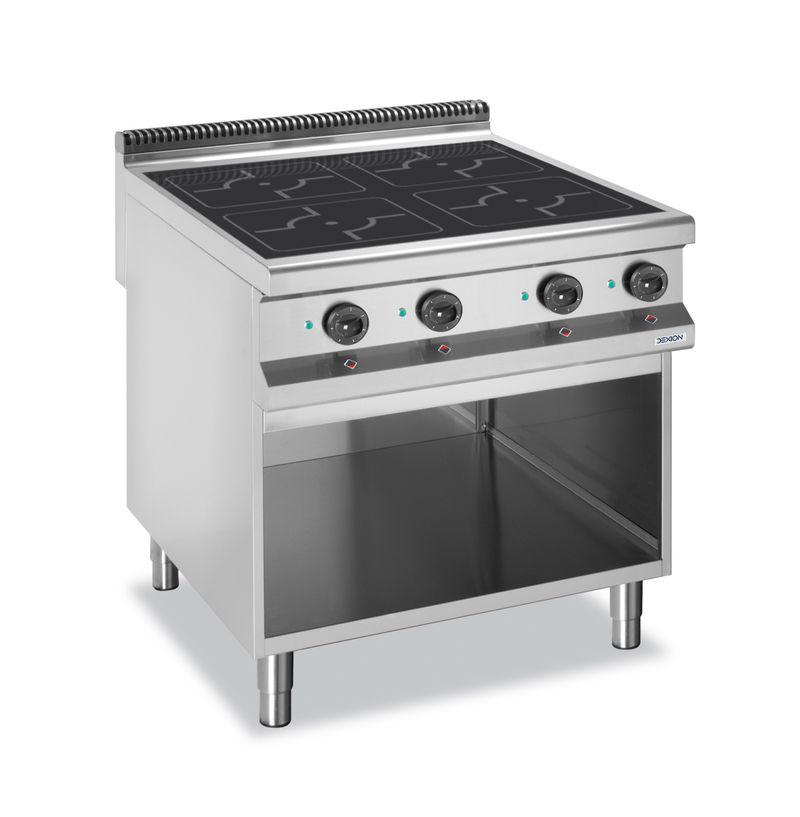 Cuisinière à induction Dexion série 98 - 80/90