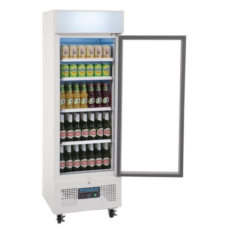 Getränkekühlschrank Polar 218L weiß