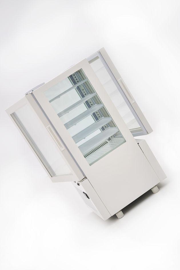 Kühlvitrine ECO 78 Liter Weiß