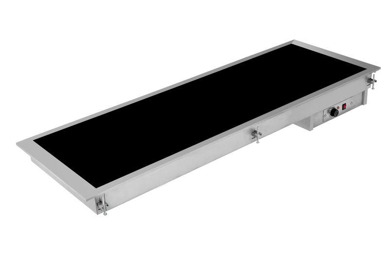 Einbau-Kontaktheizplatte 4 GN1/1