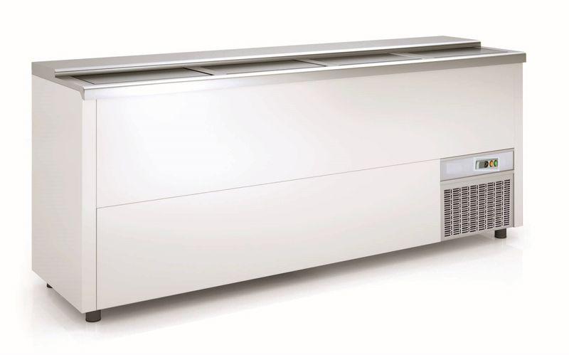 Coffre à boissons réfrigéré Premium 580 litres - blanc
