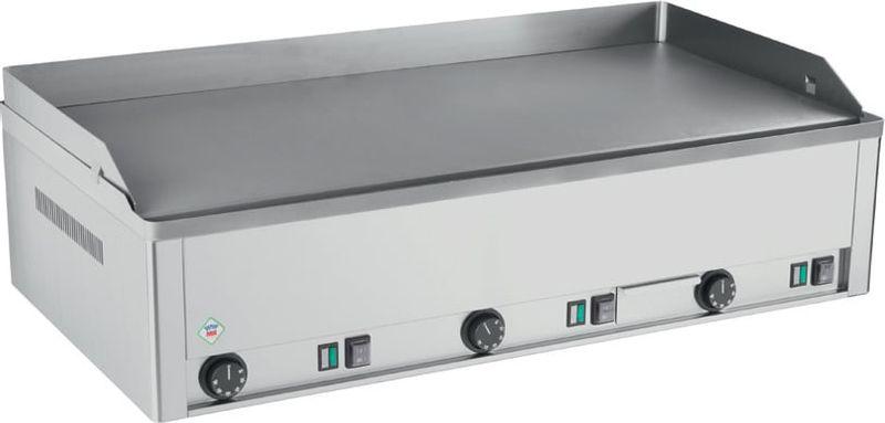 Plaque grillade électrique PROFI90 avec plaque chromée