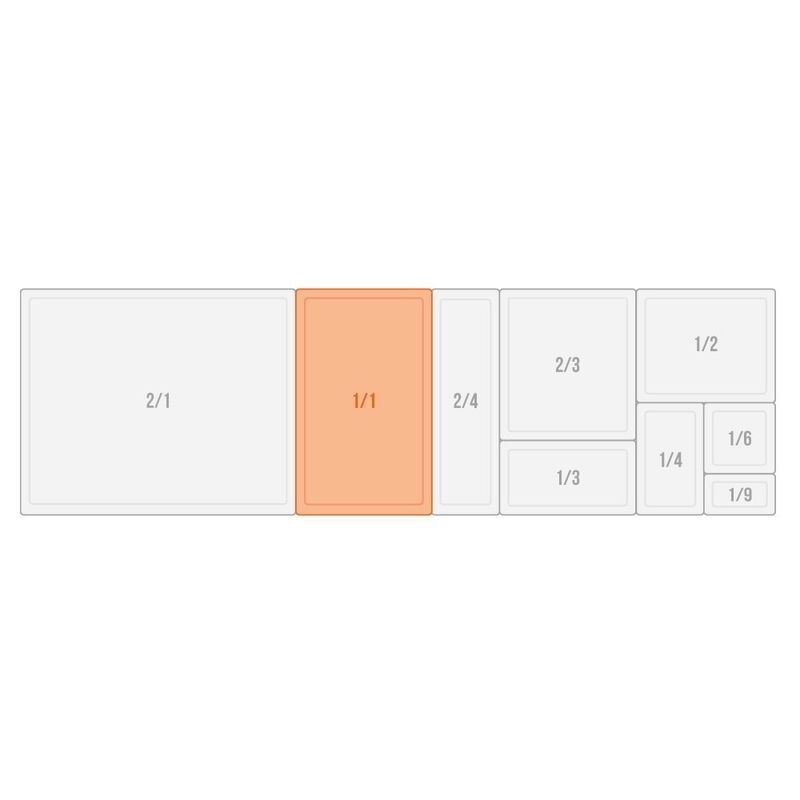 APS GN 1/1 Behälter - ECO LINE-  53 x 32,5 cm, Tiefe: 100 mm
