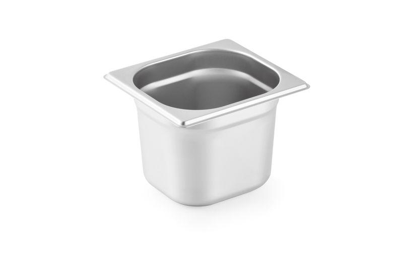 Serie 100 Edelstahl Gastronormbehälter 1/6 - 150 mm Tiefe