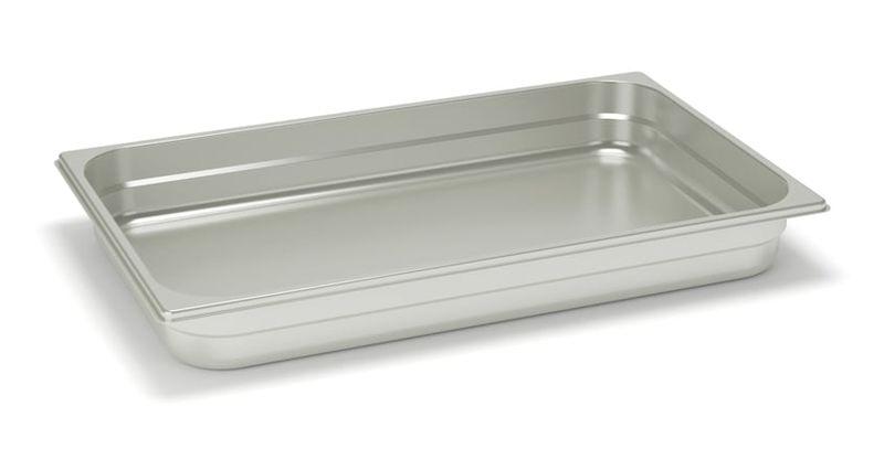 Rieber Edelstahl GN-Behälter GN 1/1 - 100 mm, Inhalt: 11,7 Liter, Mod. 11 100