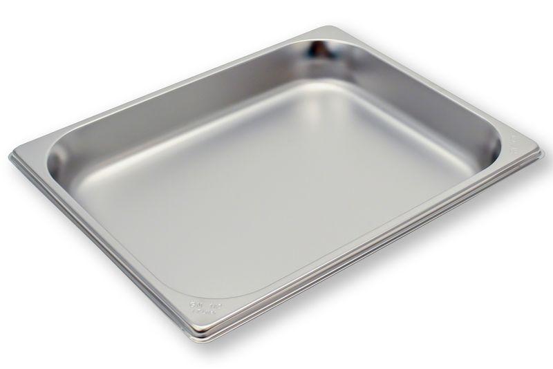 Rieber Edelstahl GN-Behälter GN 1/2 - 40 mm, Inhalt: 1,7 Liter, Mod. 12 040