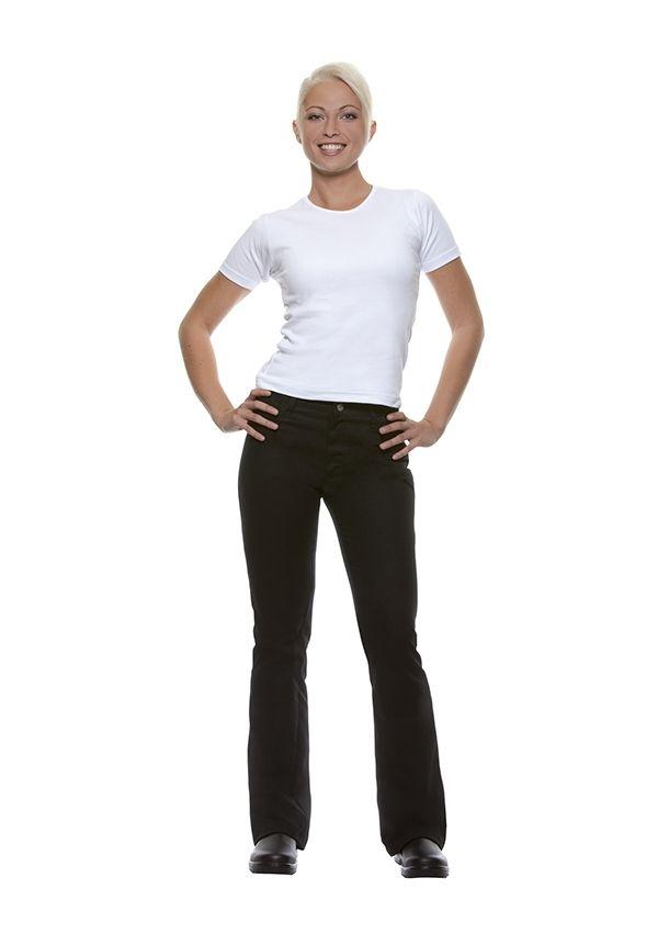 Damenhose Tina, schwarz, Größe: 46