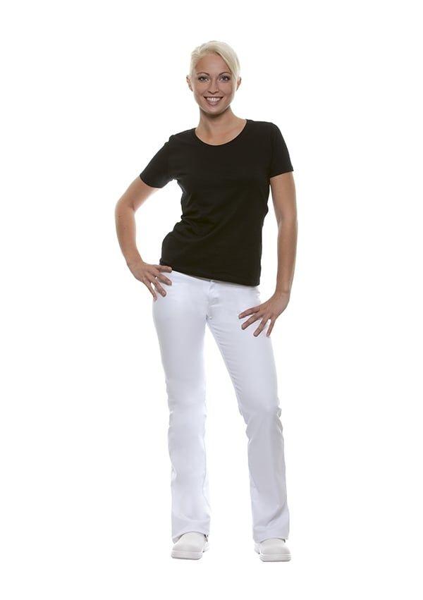 Damenhose Tina, weiß, Größe: 36
