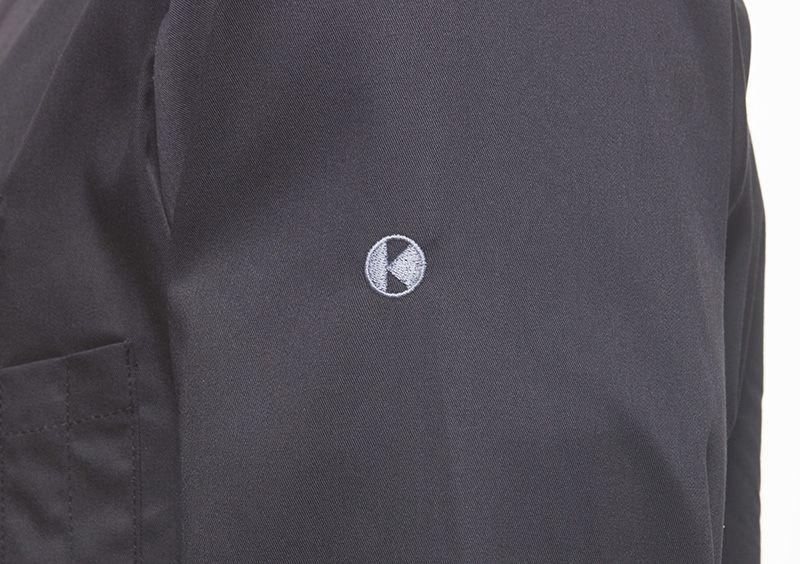 Herrenkochhemd New Identity, schwarz, Größe: 54