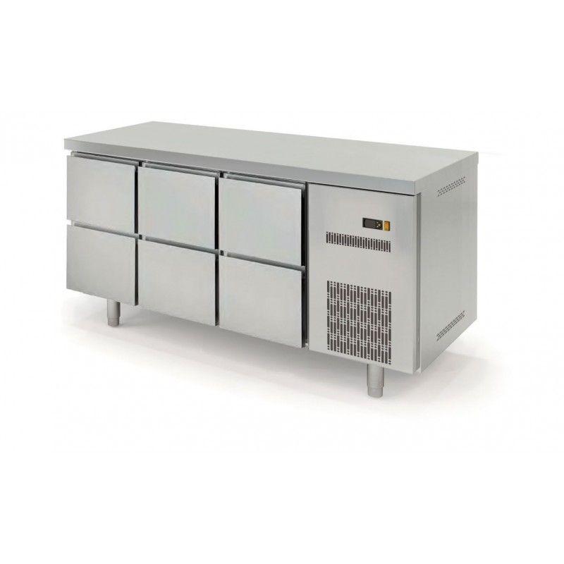 Kühltisch Profi 600 0/6