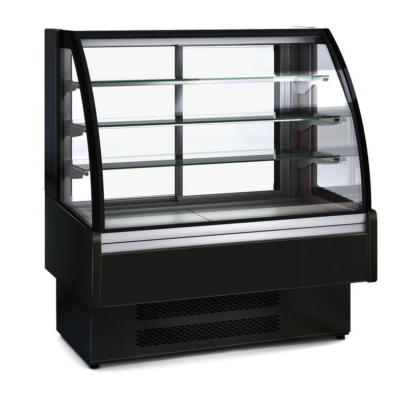 Kühlvitrine Profi 130 - rundes Frontglas