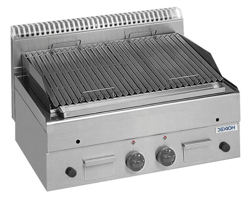 Lavasteingrill Dexion Serie 66 - 80/60 Fleischgrillrost Tischgerät
