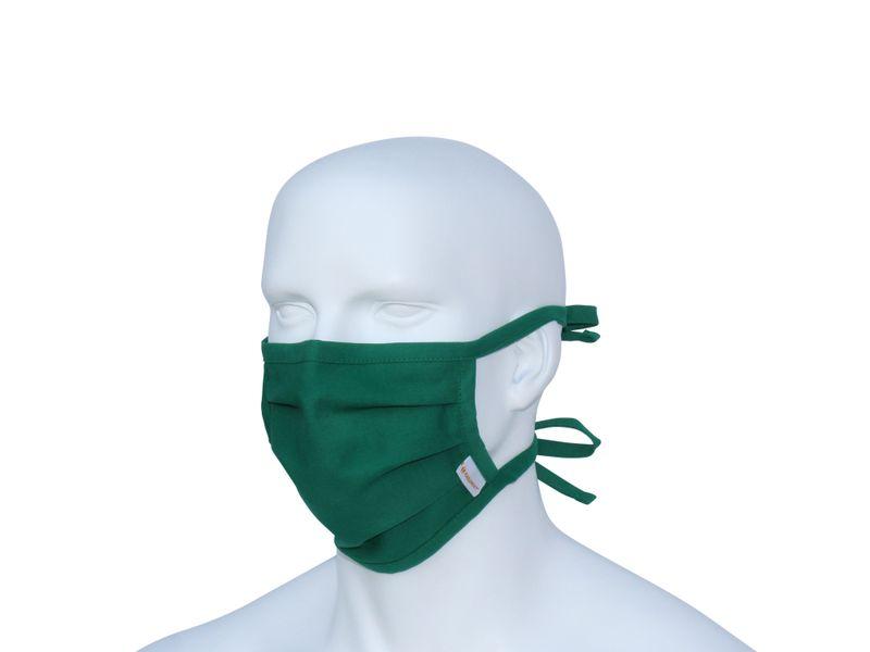 Karlowsky Stoffmaske - grün