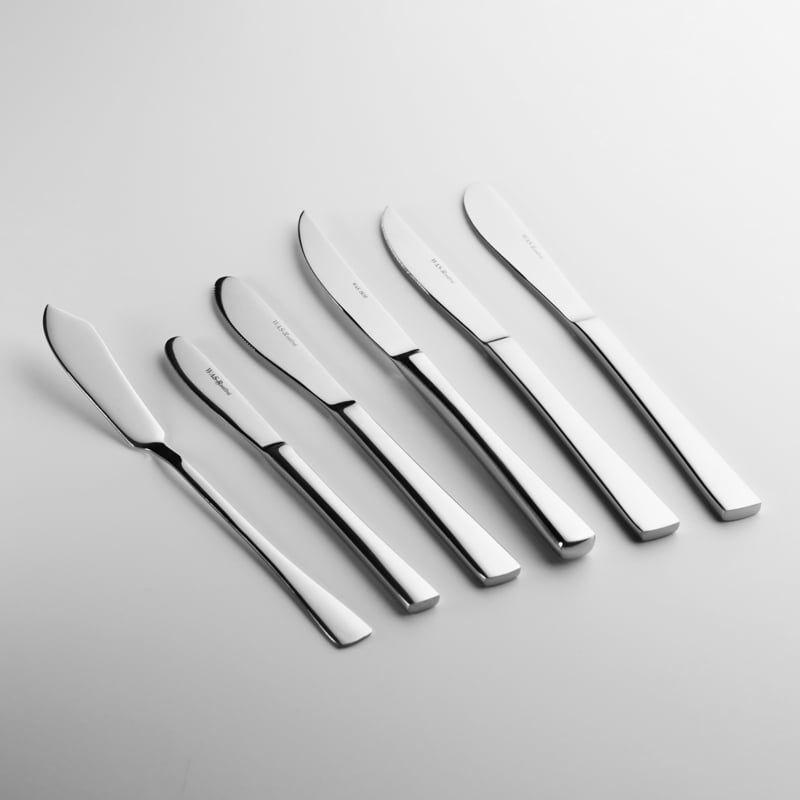 """Couteau à steak """"Orchidée"""" - Livret complet"""