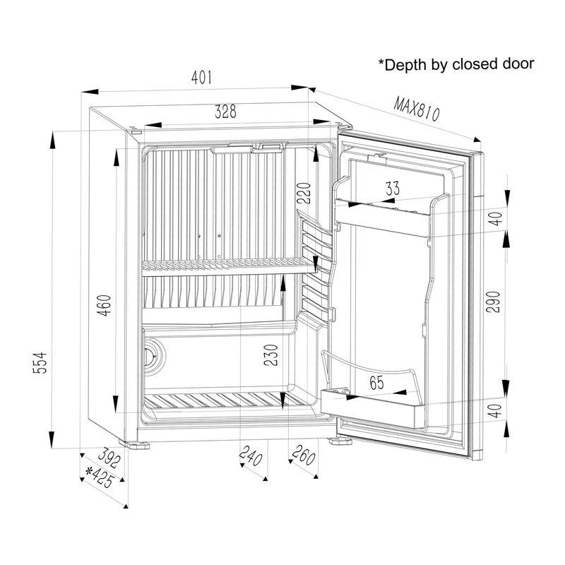 Mini-bar Dometic Série E 4000