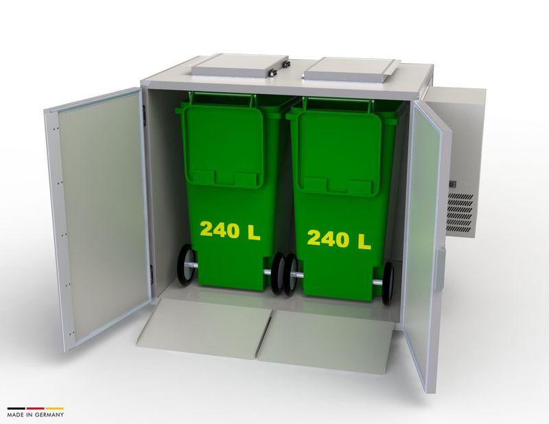 Hefa Abfallkühler 2x 240L