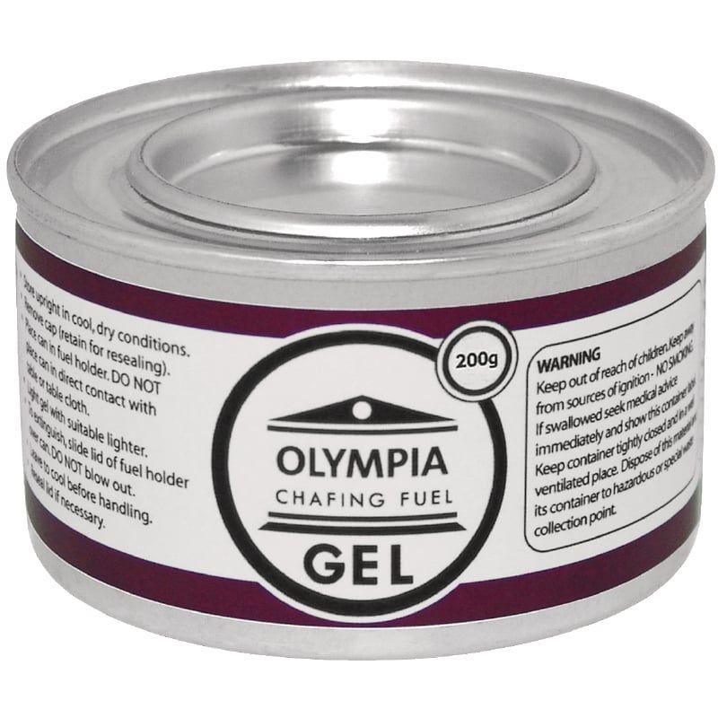 """2x Olympia Chafing Dish 1/1 GN, Edelstahl, """"Milan"""" mit 72 Brennpasten"""