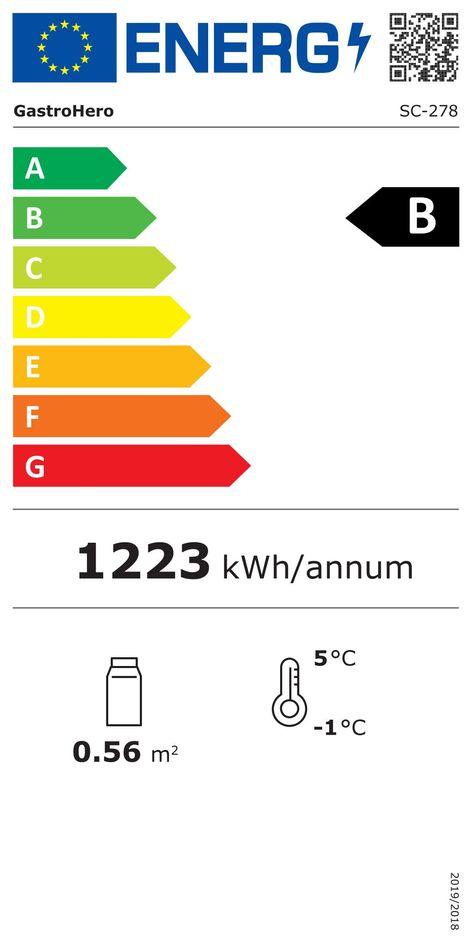 Getränkekühlschrank ECO 278
