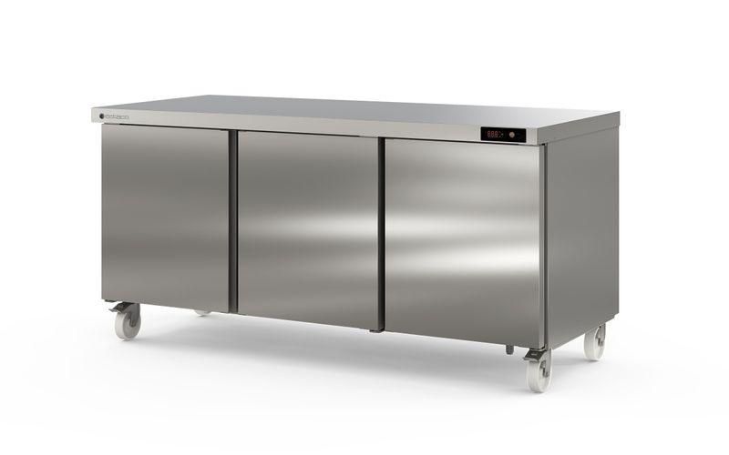 Coreco Kühltisch US Range 1800 - 3/0