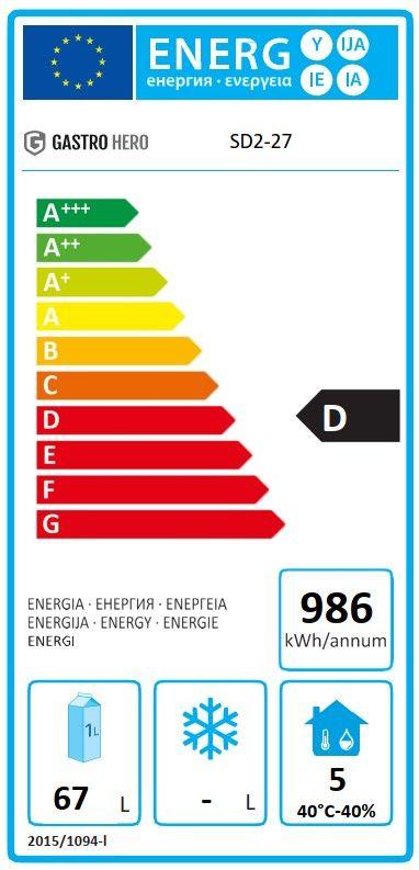 Coreco Kühltisch US Range 700 - 0/2