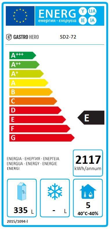 Coreco Kühltisch US Range 1800 - 2/2