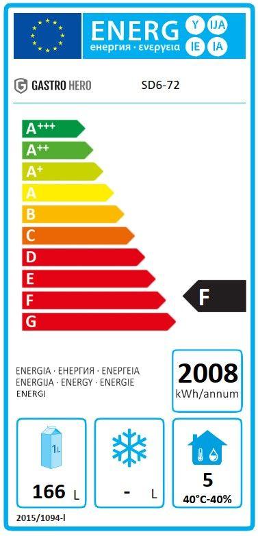 Coreco Kühltisch US Range 1800 - 0/6