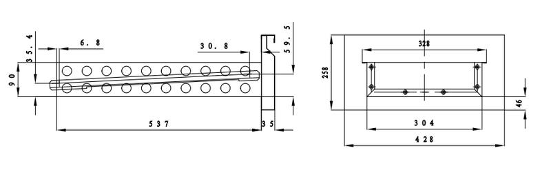 Kühltisch ECO 0/4 Mini - GN 1/1
