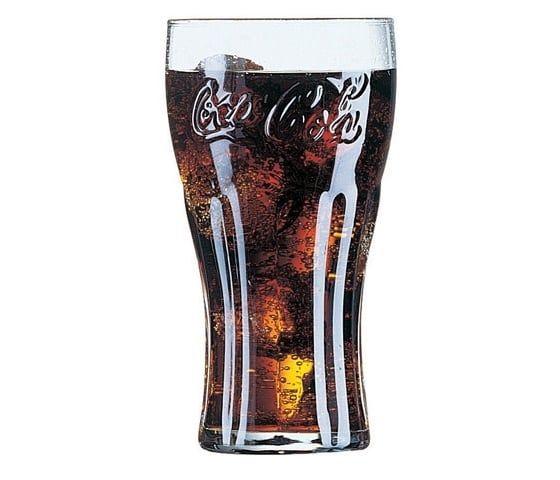 Arcoroc Coca-Cola FH46, jaugé à 0,4 l