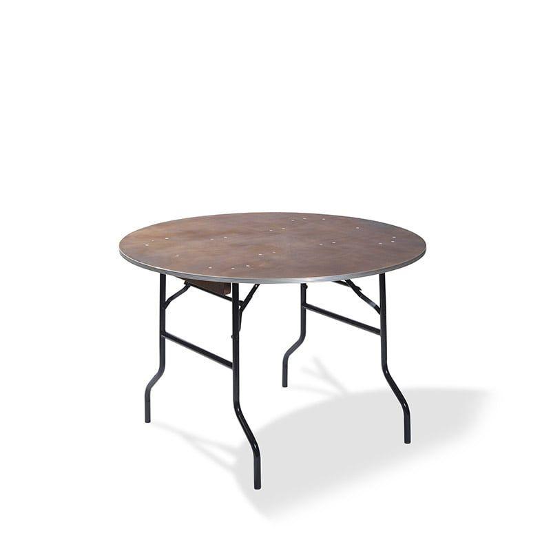 Banketttisch rund Ø 122cm
