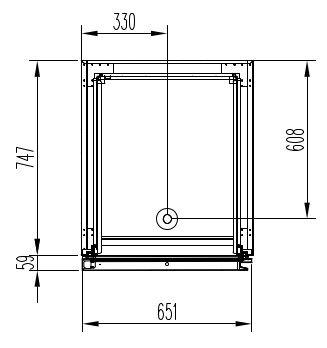 Tiefkühlschrank Profi 700 GN 2/1 Superior