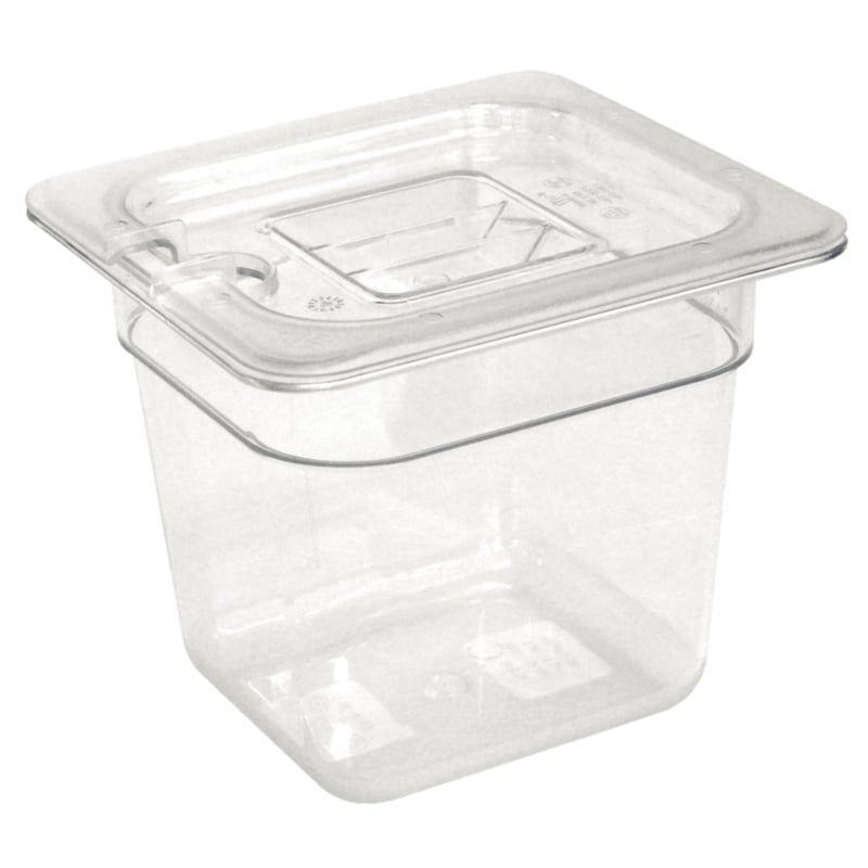 Vogue GN-Behälter 1/6 Polycarbonat - Tiefe 150 mm