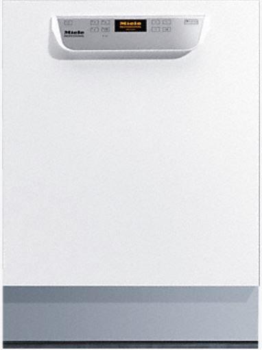 Miele Unterbau-Frischwasser-Spülmaschine 50x50 PG 8056 U [MK SPEEDplus] Weiß, mit Körben