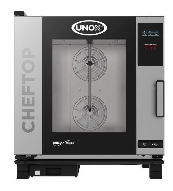 UNOX Kombidämpfer Cheftop Mindmaps 7 x GN 1/1 ONE Elektro inkl. Aufstellpauschale