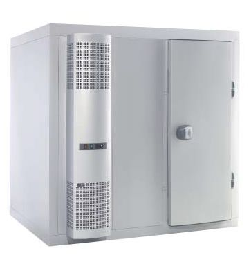 Chambre froide GGG ECO, 100 mm d'épaisseur de paroi - 2040 x 2640 x 2150